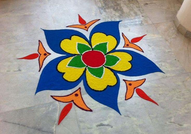 Easy Rangoli Designs                                                                                                                                                                                 More