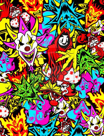 Insane clown posse fan art