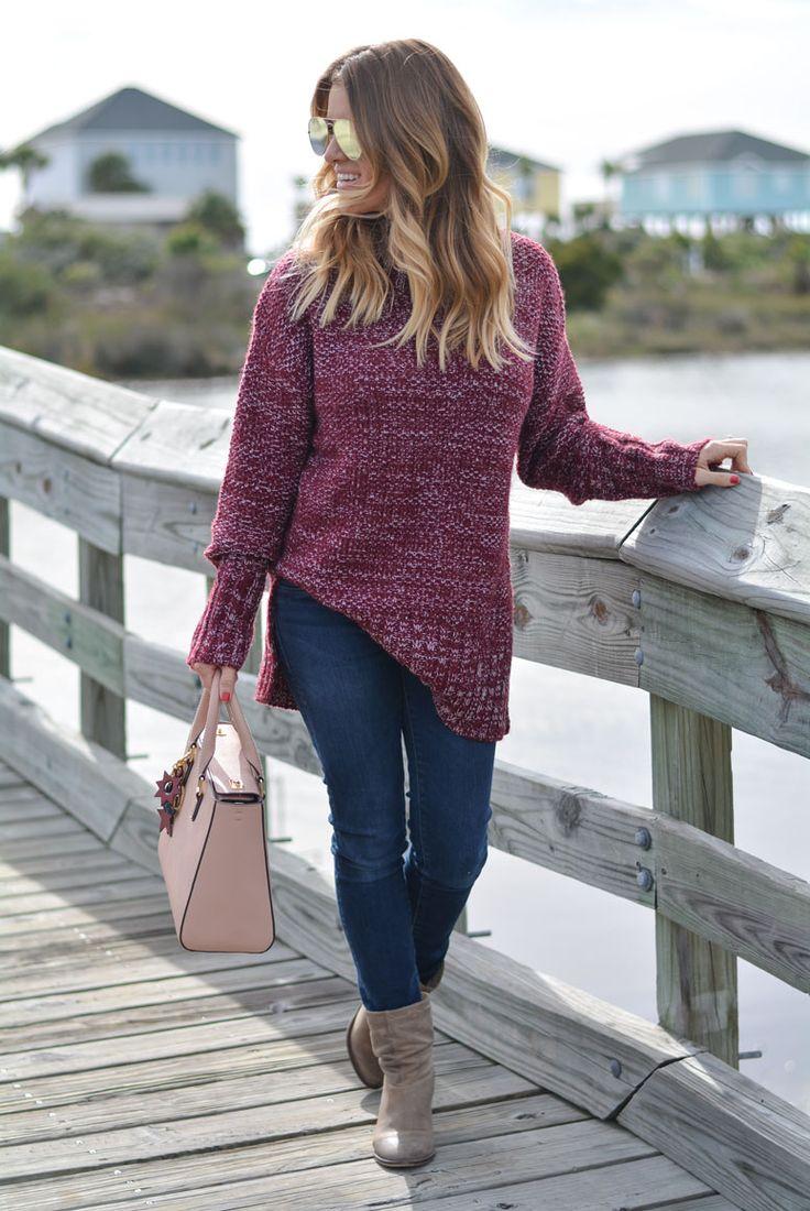 Styling an oversized sweater + Sale on Henri Bendel