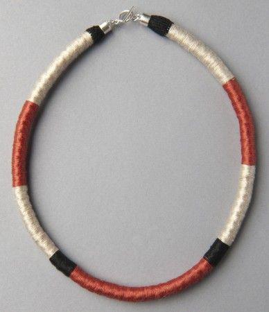 Coiled Necklace/Collar embarrilado