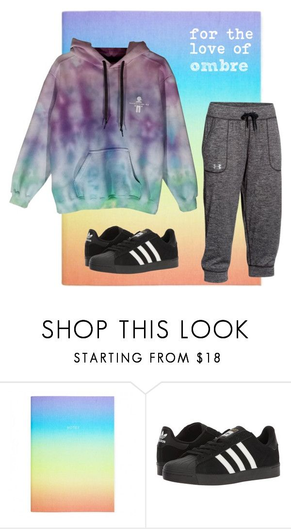 """""""casual ombre l@@k"""" by kaleidoscopekidco on Polyvore featuring adidas and Under Armour"""