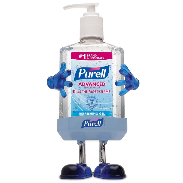 Daily Prize Winners receive a PURELL PAL™!