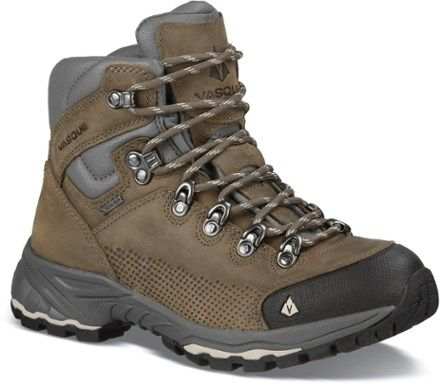 Vasque St. Elias Backpacking Boots: Bungee Cord/Silver Cloud #REI #backpacking (NOTE: size 6.5)