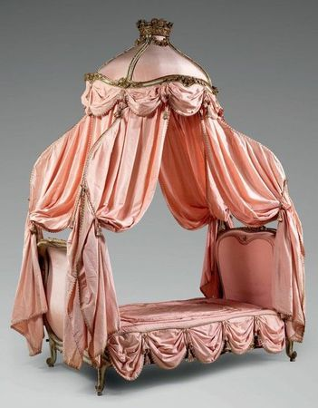 When just any bed will not do A Louis XV bed -  so over the top it's down the back side.  -54958057924165356_LH4s3CPy_c