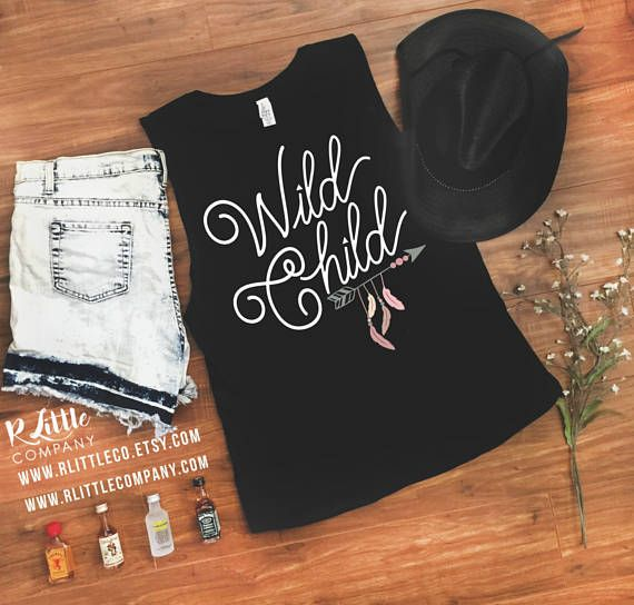 Wild Child Women's Festival Tank XS-4X // Stagecoach // Country Concert // Kenny Chesney Tank