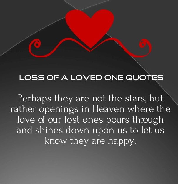 Quotes Missing Love: 15 Inspirational Quotes And Poems For Lost Loved Ones