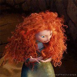 Merida - Disney-Pixar-Brave Full Body Expression