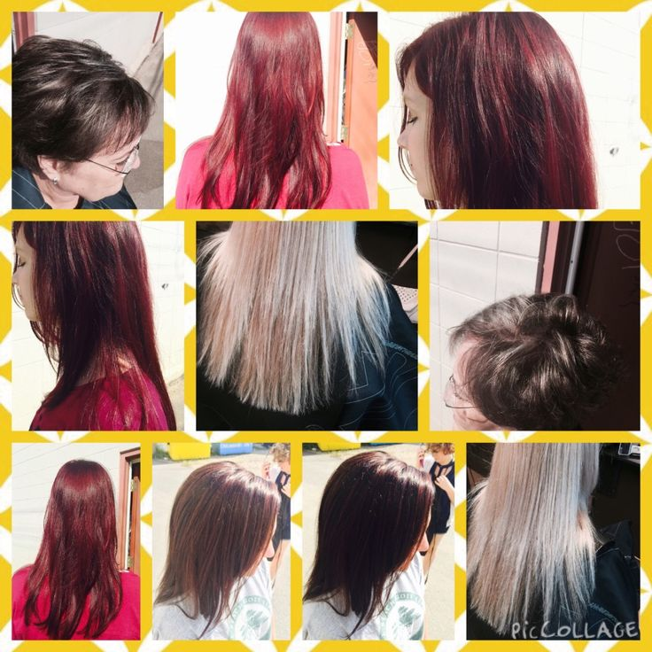 Vivacious reds, Multi-tonal blondes and Beautiful brunettes <#