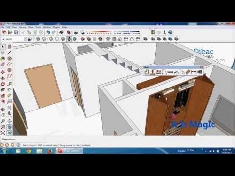 2014 DIBAC for SKETCHUP plugin - YouTube