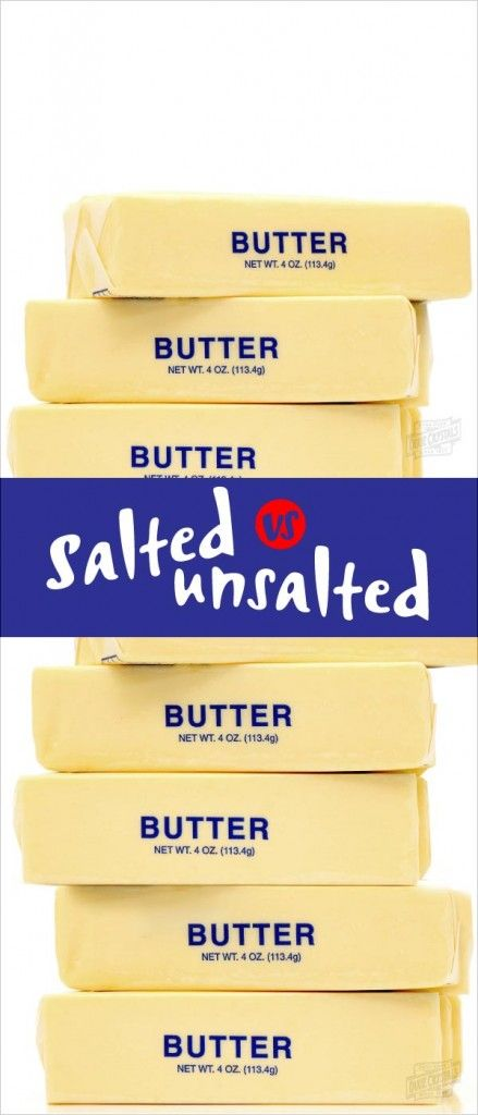 Learn about the difference between salted and unsalted butter and when to use each in baking in this Sweetalk blog post. Chef Eddy Van Damme weighs in on the butter debate with this quick tip you can use when baking recipes for cakes, cookies, pies and other sweet treats and desserts.