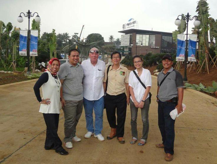 Landscape Design Team in the beginning at Vimala Hills Project