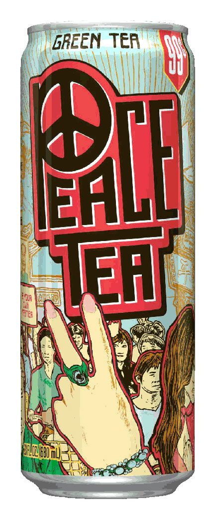 Peace Tea for 99 cents