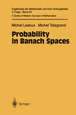 Probability in Banach Spaces / Michel Ledoux, Michel Talagrand
