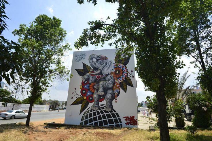#StreetArt #Grafitti #Morocco #StreetArtInMorocco #Mural #The1mMuralPicChallenge #YouthYell