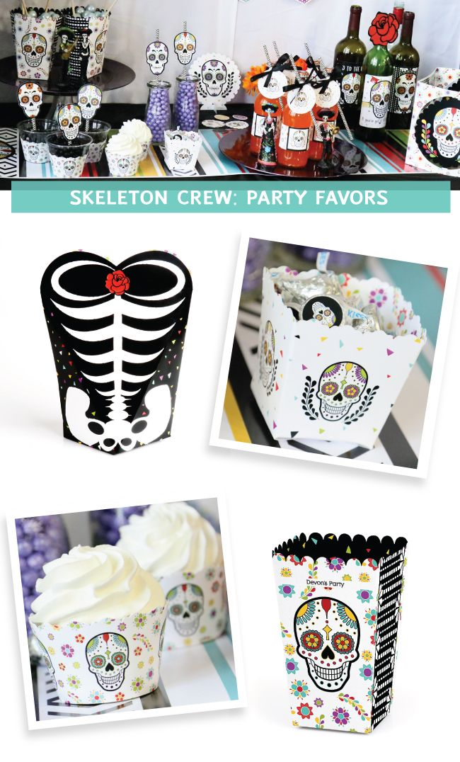 Day of the Dead Supplies Sugar Skull Decorations and Halloween