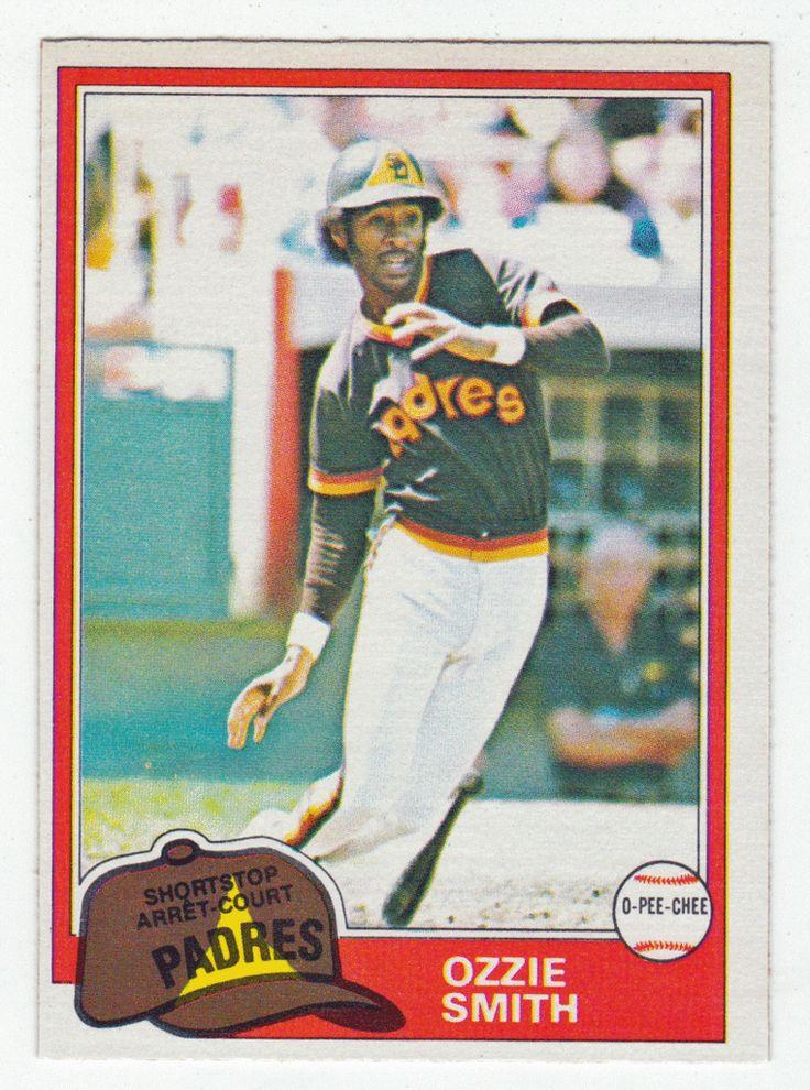 Ozzie Smith # 254 - 1981 O-Pee-Chee Baseball