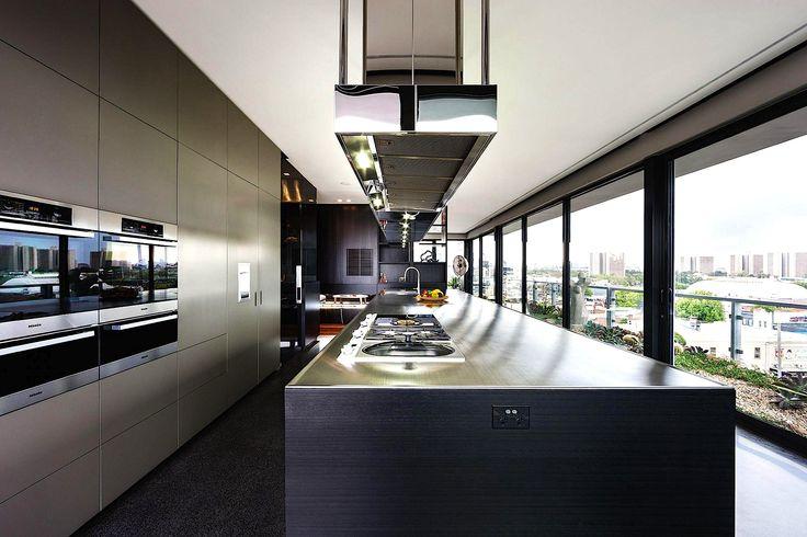 Coppin Luxury Penthouse Kitchen Victoria Australia