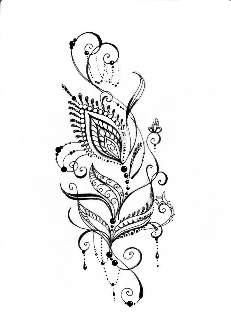 Hair tattoo tribal designs