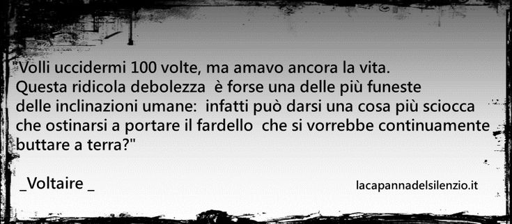 """Dal """"Candido"""" di Voltaire."""