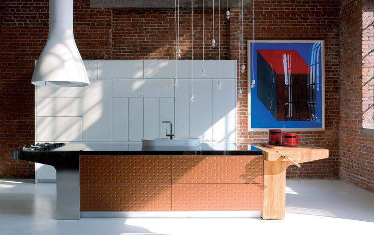 Modern Kitchen With Original Finish – Mesa by Schiffini | DigsDigs