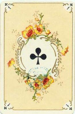 Игральные карты в стиле рококо (французская версия) Фабрика Grimaud(Франция), около 1890 года. Переиздавались в наши дни.