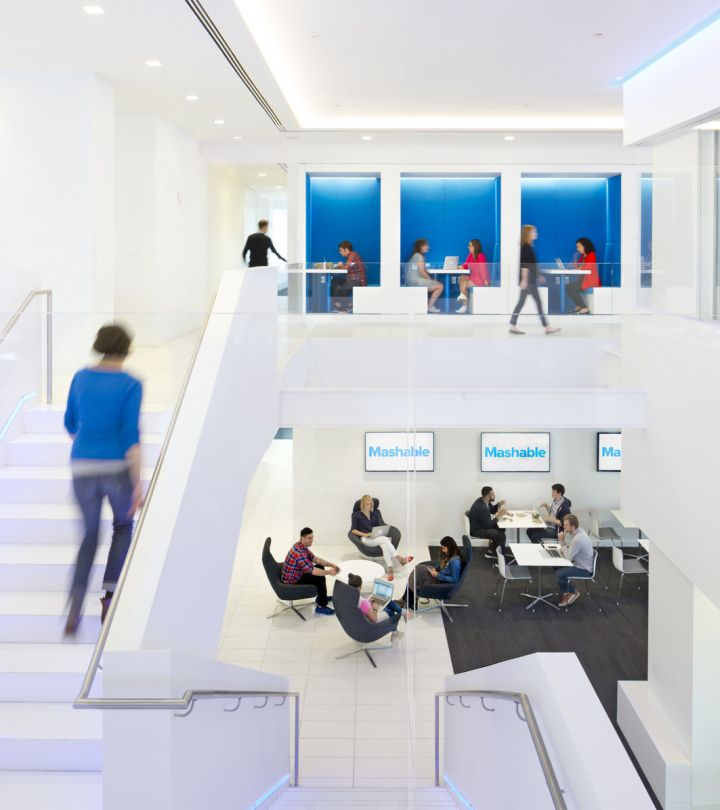 Mashable Headquarters In New York By Studios Corporate InteriorsCommercial DesignCommercial