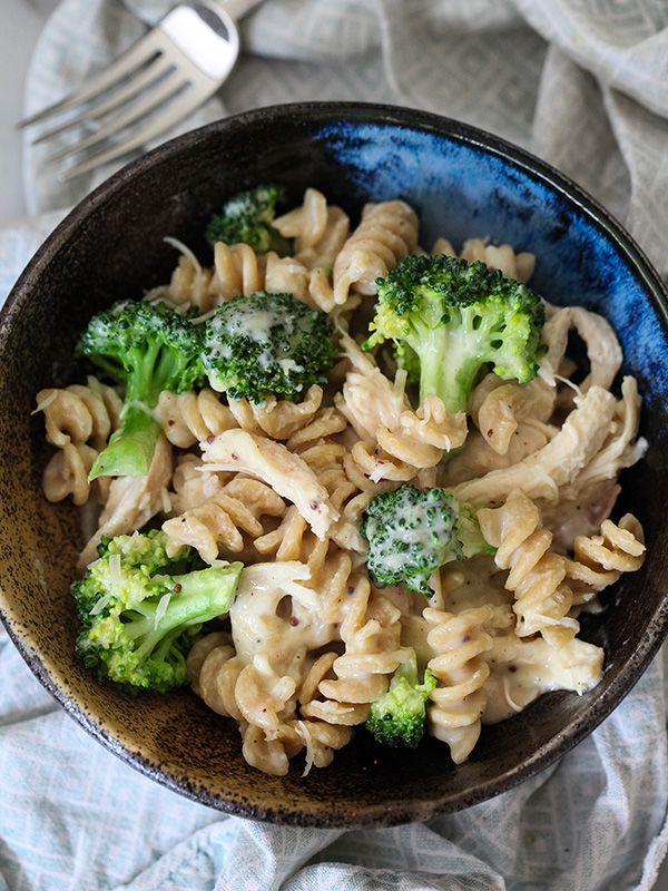 Fusilli broccoli e formaggio!