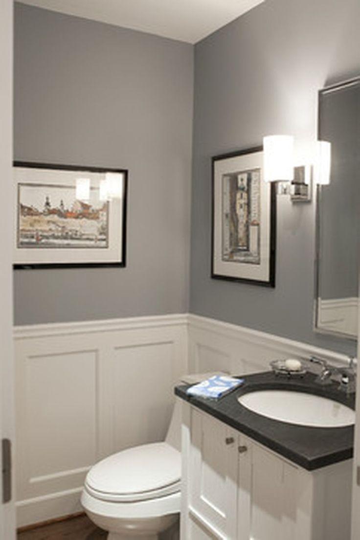 White and gray bathroom ideas - 67 Best Stylish Gray And White Bathroom Ideas