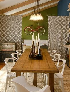 Vintage Inspired Dining Room - rustic - dining room - phoenix - by Mackenzie Collier Interiors