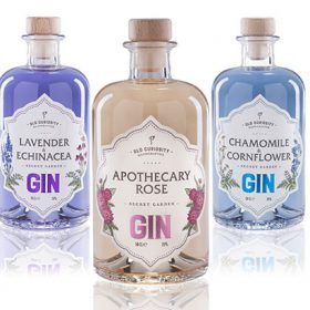 Edinburgh-based distillery The Old Curiosity is set to release a trio of floral-inspired, colour-changing gins next month