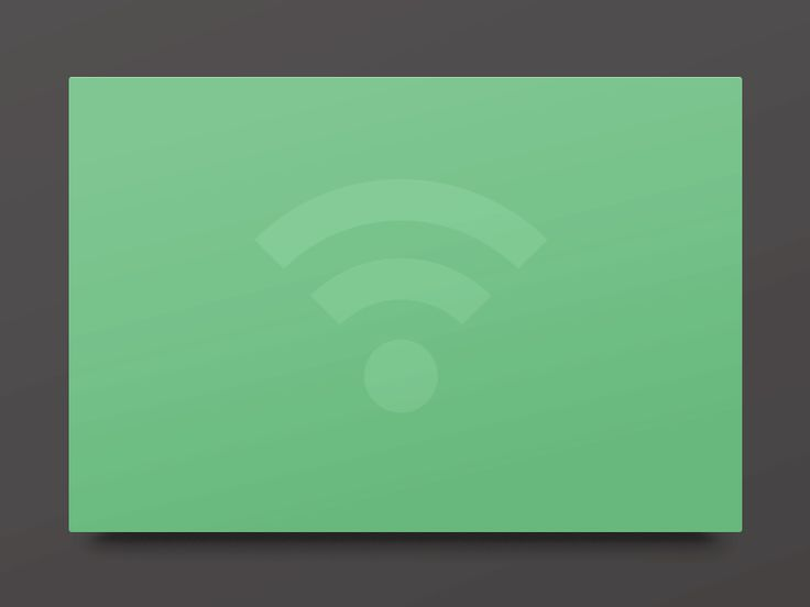 Wifi data #UI
