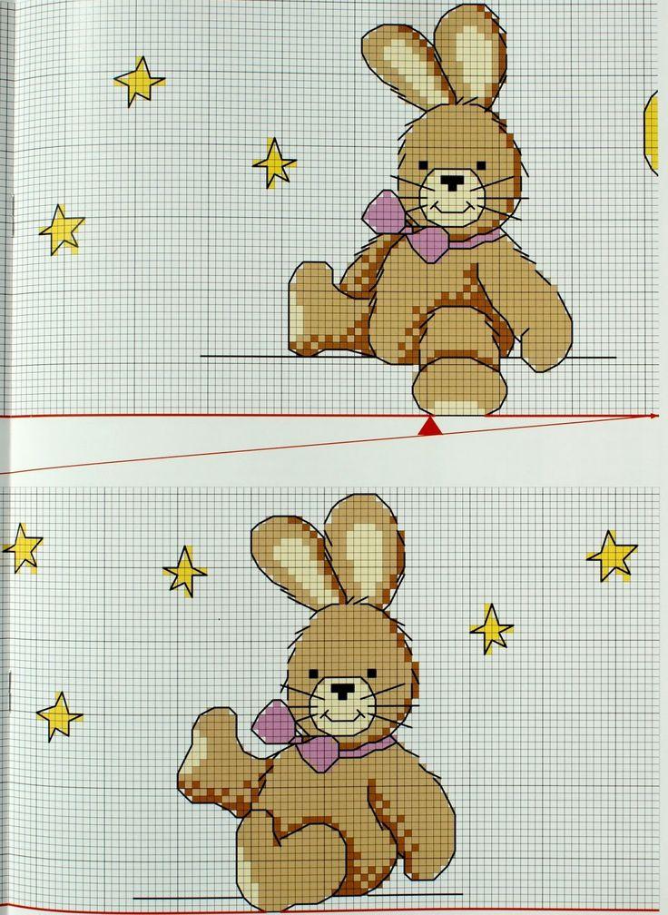 abbastanza 184 best bebè punto croce images on Pinterest   Cross stitch  DG94