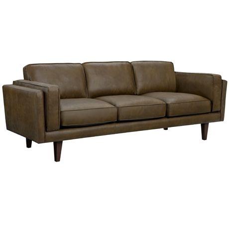 Brooklyn 3 Seat Sofa Oxford Tan