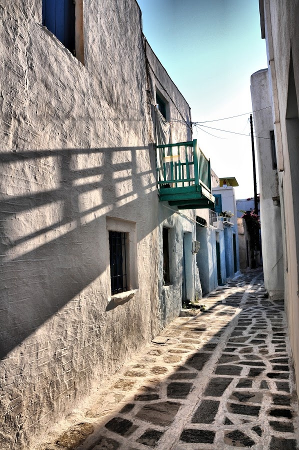 Greece, Paros Island Morning