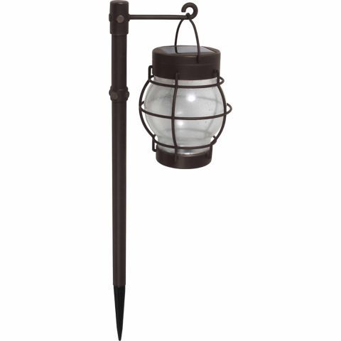 Love these solar lanterns for the yard or garden AND saving money on electricity! Malibu Daybreak LED Solar Pathway Lights, Pack of 4
