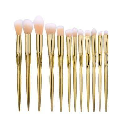 7Pcs Glitter Concave Makeup Brushes Set $12.23