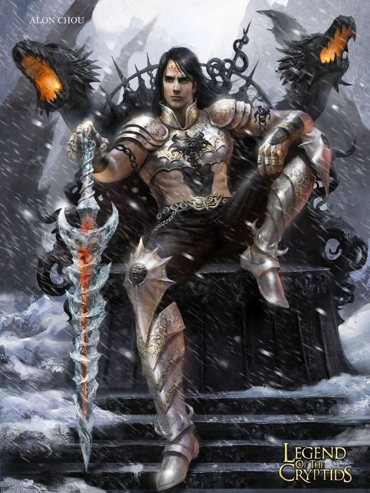 En el trono con sus dragones legend of the cryptids