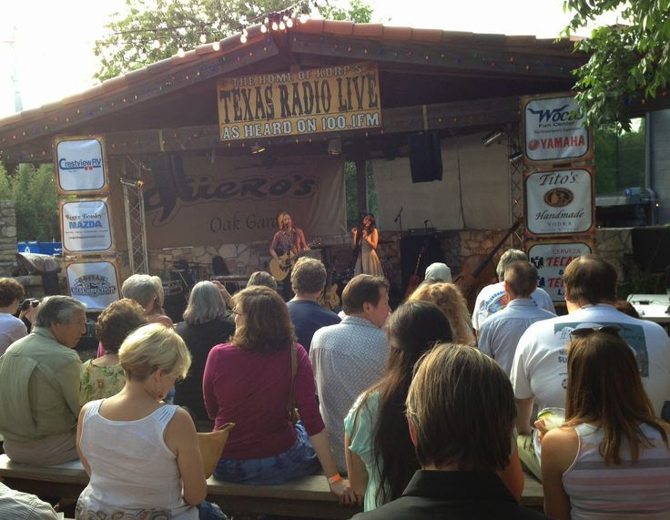 Free Fun in Austin: Texas Radio Live at Guero's Oak Garden