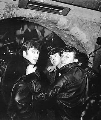Gene Vincent & The Beatles at the Cavern Club,1 July,1962.