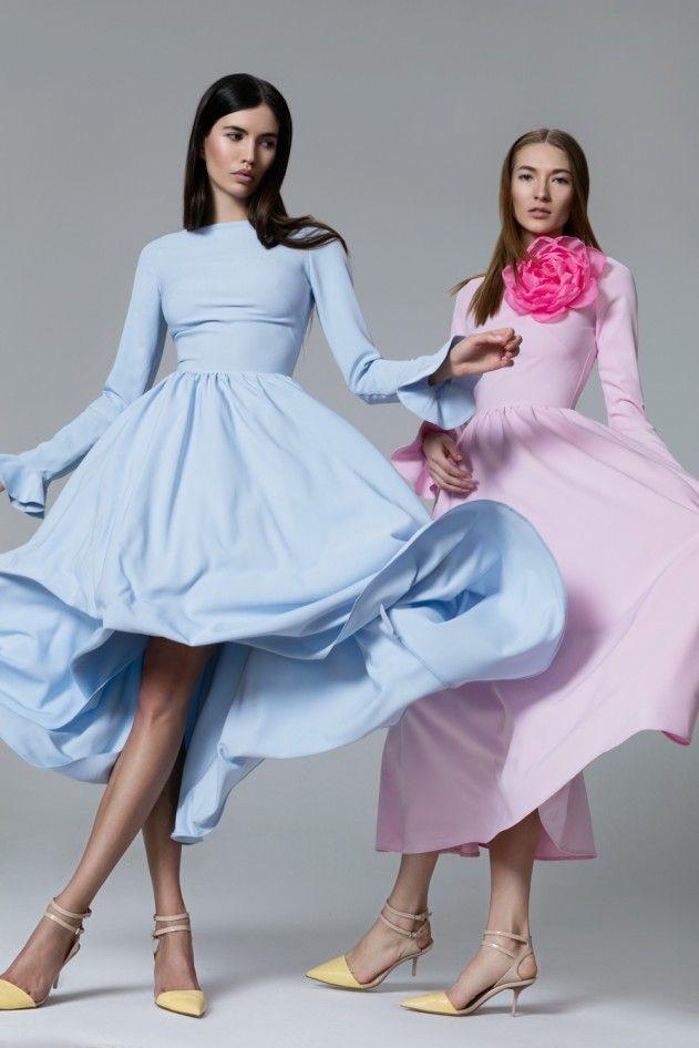 Платье «Анна-Мария» голубое, Платье «Анна-Мария» розовое, Цена—…