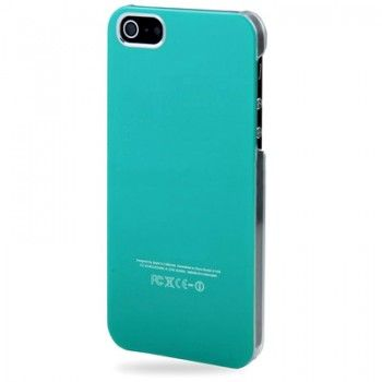 iPhone 5/5S Cases : Crystal 2-color Case for iPhone 5 - Blue