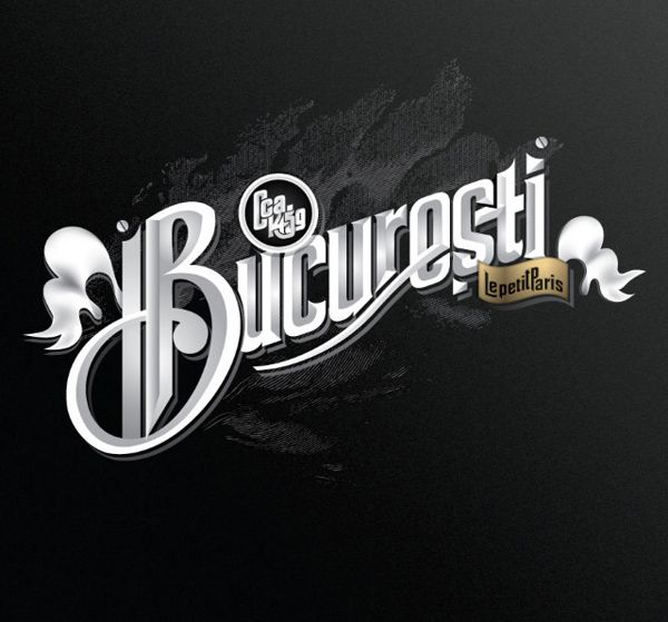 World cities honored in typography: Bucharest