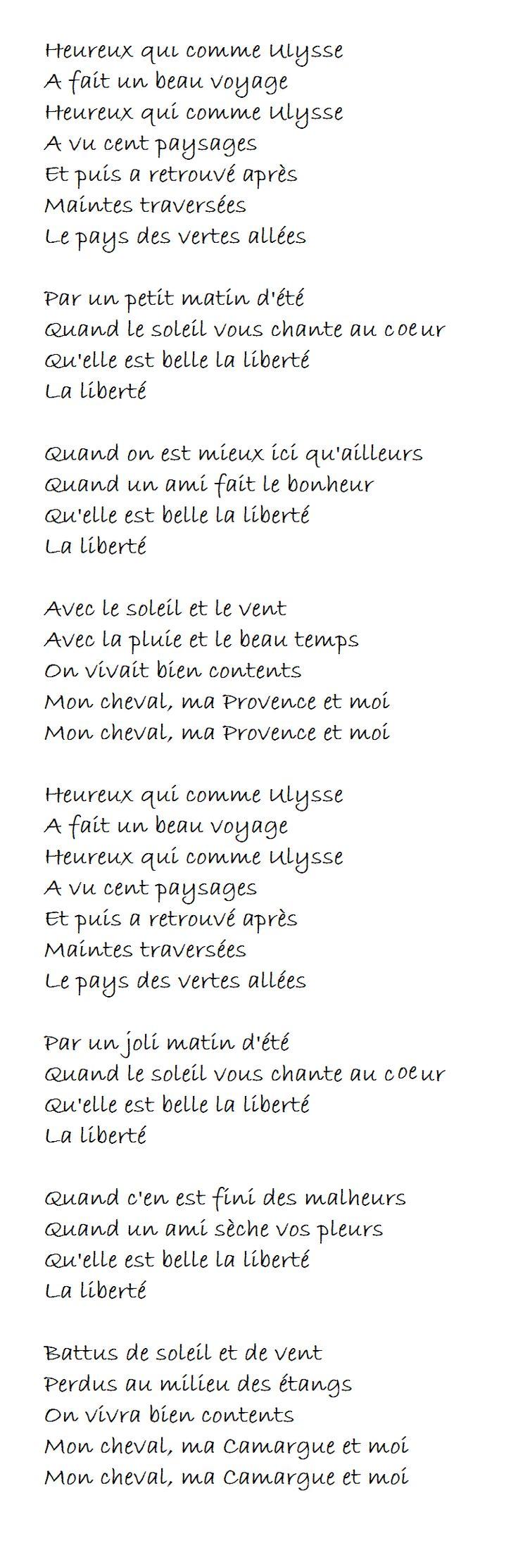 Georges Brassens - Heureux qui comme Ulysse