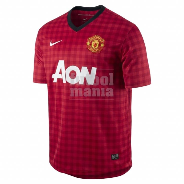 Camiseta Manchester United 12-13 http://www.futbolmanianet.com/futbol/479278623/camiseta-nike-manchester-1a-12-13?orden==1