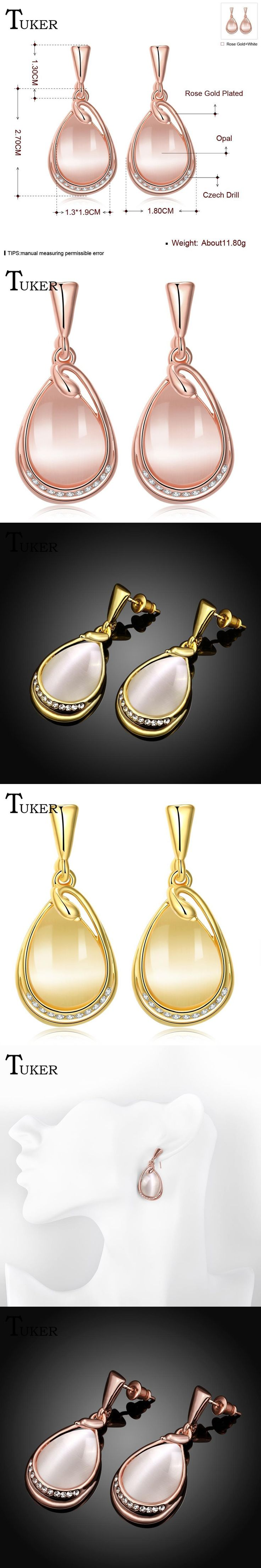 Fashion Women White moonstone Opal pendant Plating gold Earrings girl Ear Jewelry Mirror earring for women Wholesale
