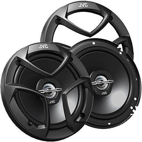 Car Speakers JVC 6.5-Inch 2-Way Audio Systems 300 Watts Rear or Door Speakers #JVC