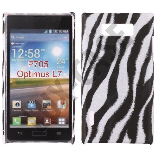 Safari (Diagonal Zebra) LG Optimus L7 Deksel