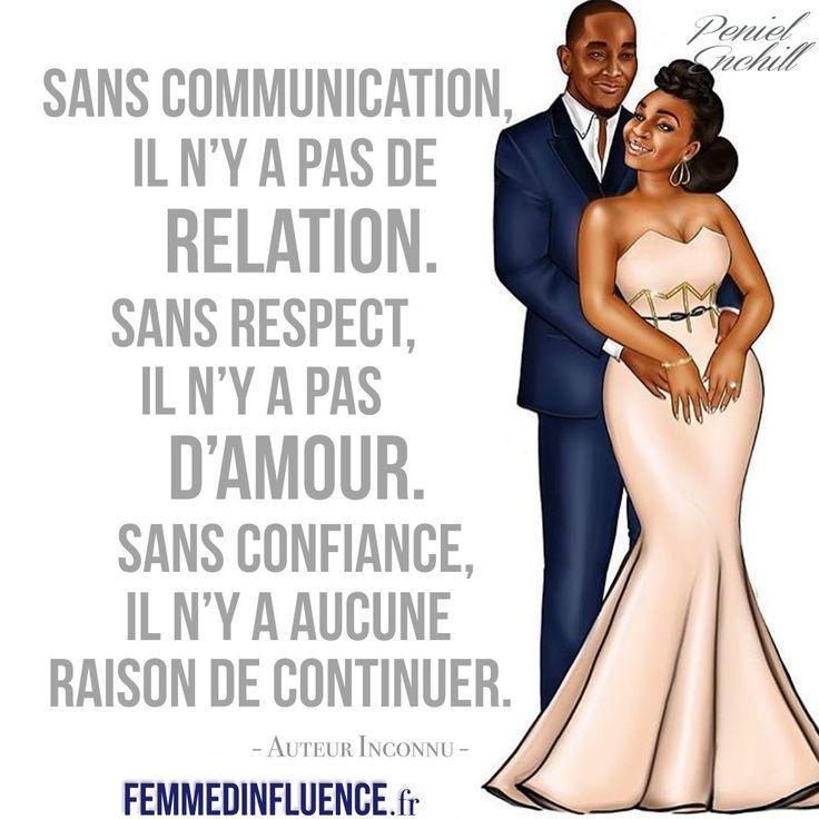 Résultats de recherche d'images pour «sans communication il n'y a pas de relation»