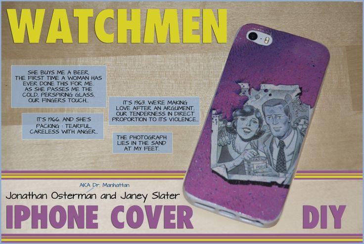 DIY Watchman phone cover tutorial