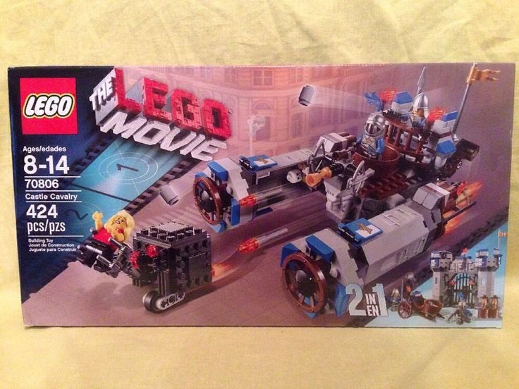 LEGO 70806 MOVIE SET CASTLE CALVARY   2 BUILDS IN 1  NEW SEALED  RETIRED
